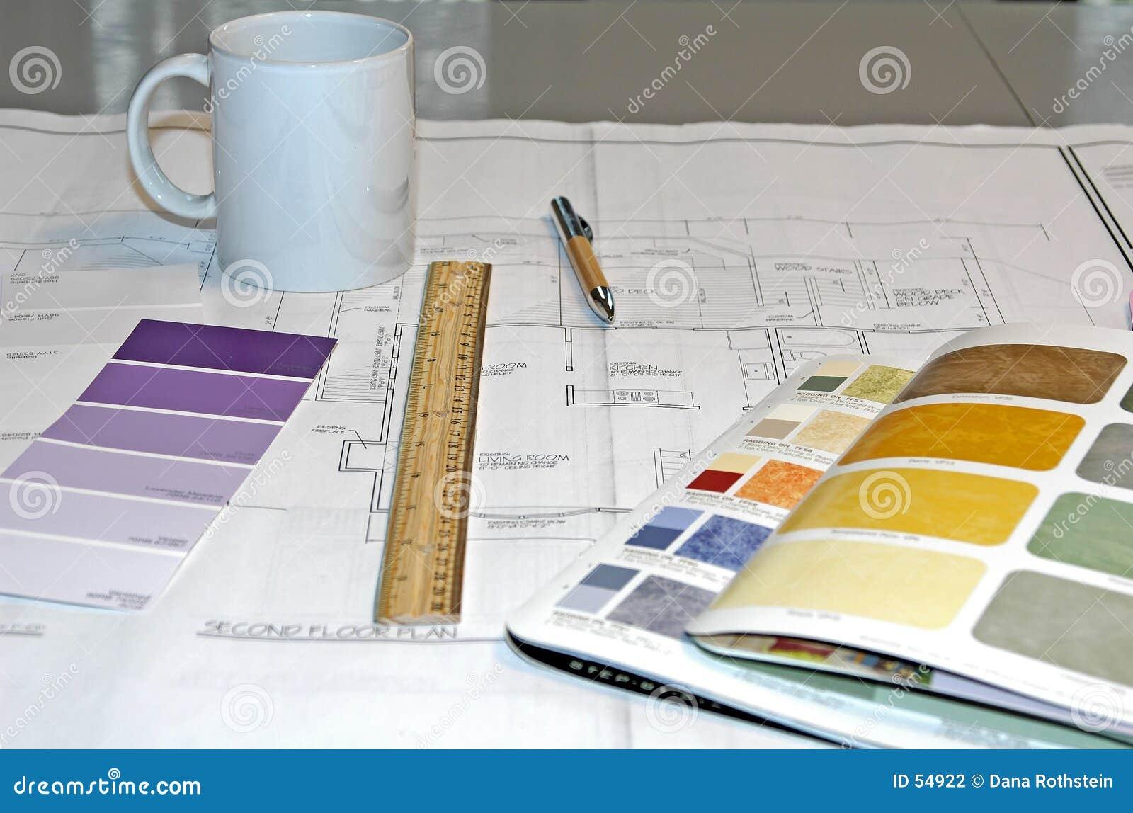 Download εσωτερικό σχεδίου στοκ εικόνες. εικόνα από σύνταξη, αρχιτεκτονικής - 54922
