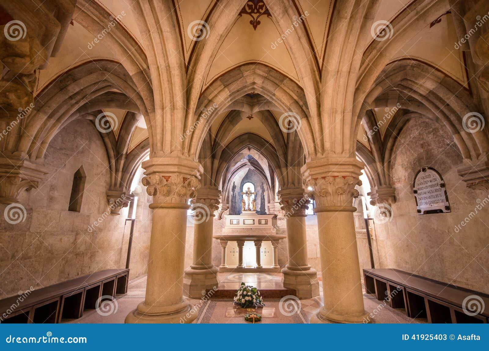 Εσωτερικό της βασιλικής Pannonhalma, Pannonhalma, Ουγγαρία