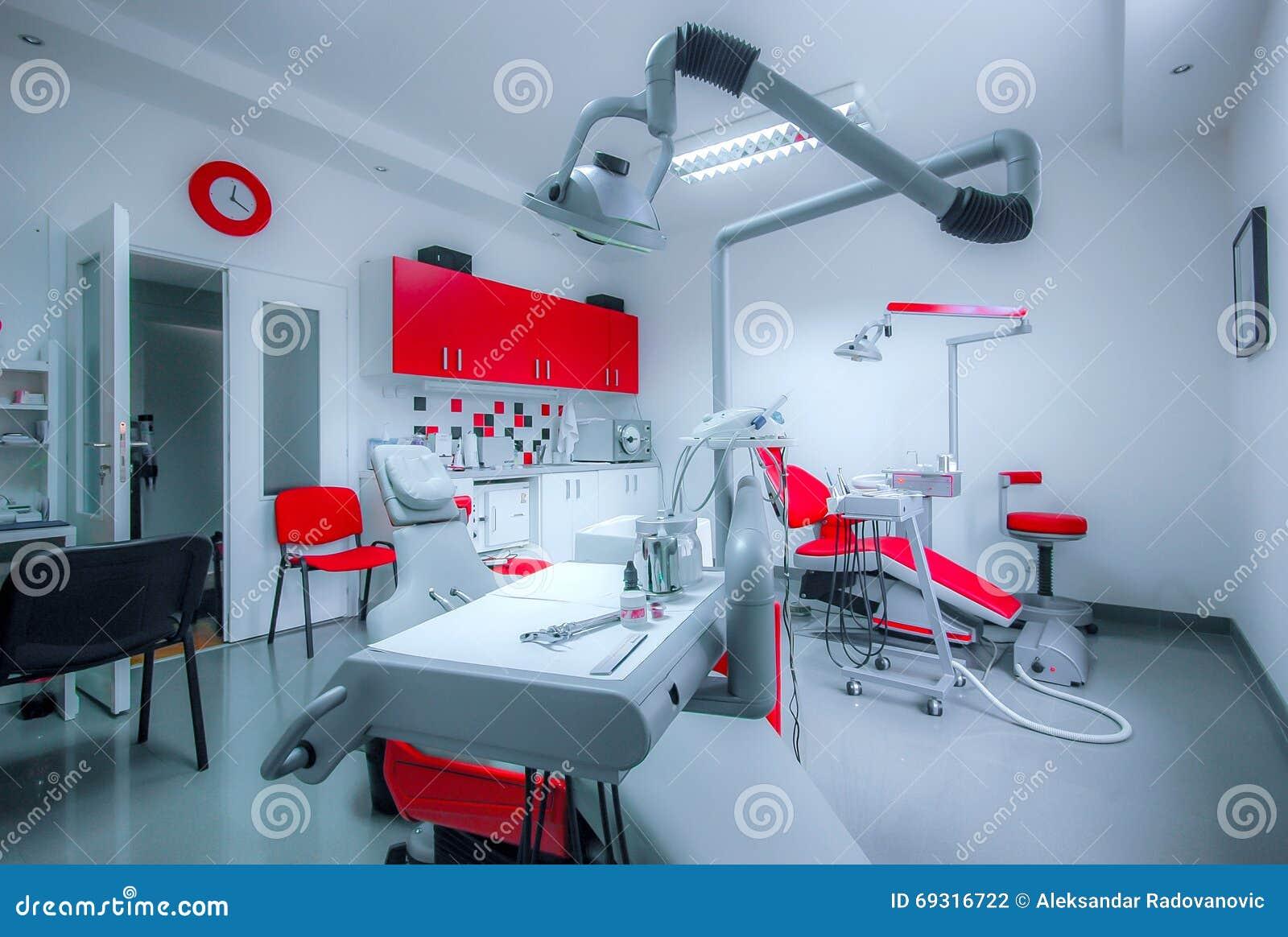 Εσωτερικό της οδοντικής κλινικής