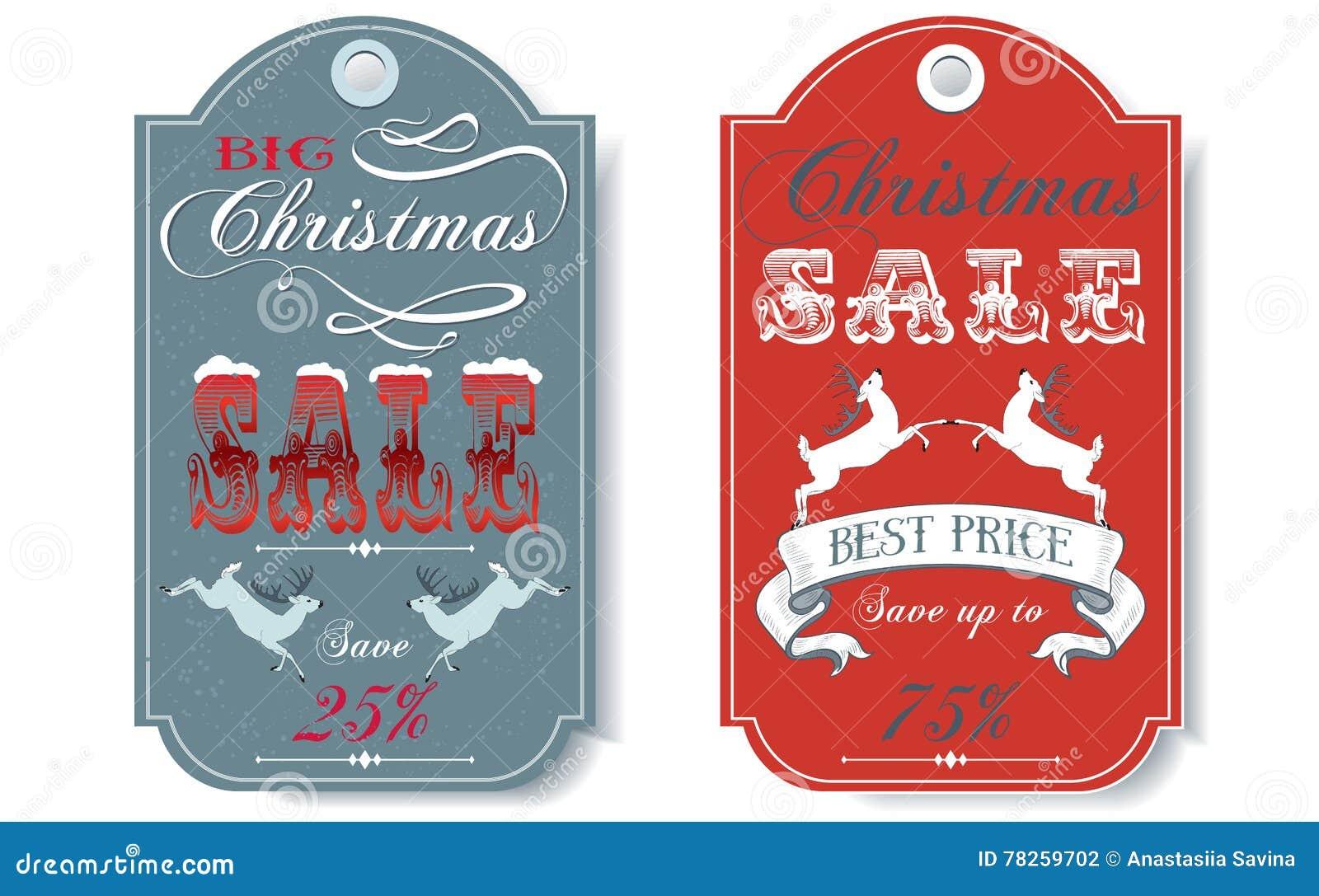 Ετικέττες πώλησης Χριστουγέννων