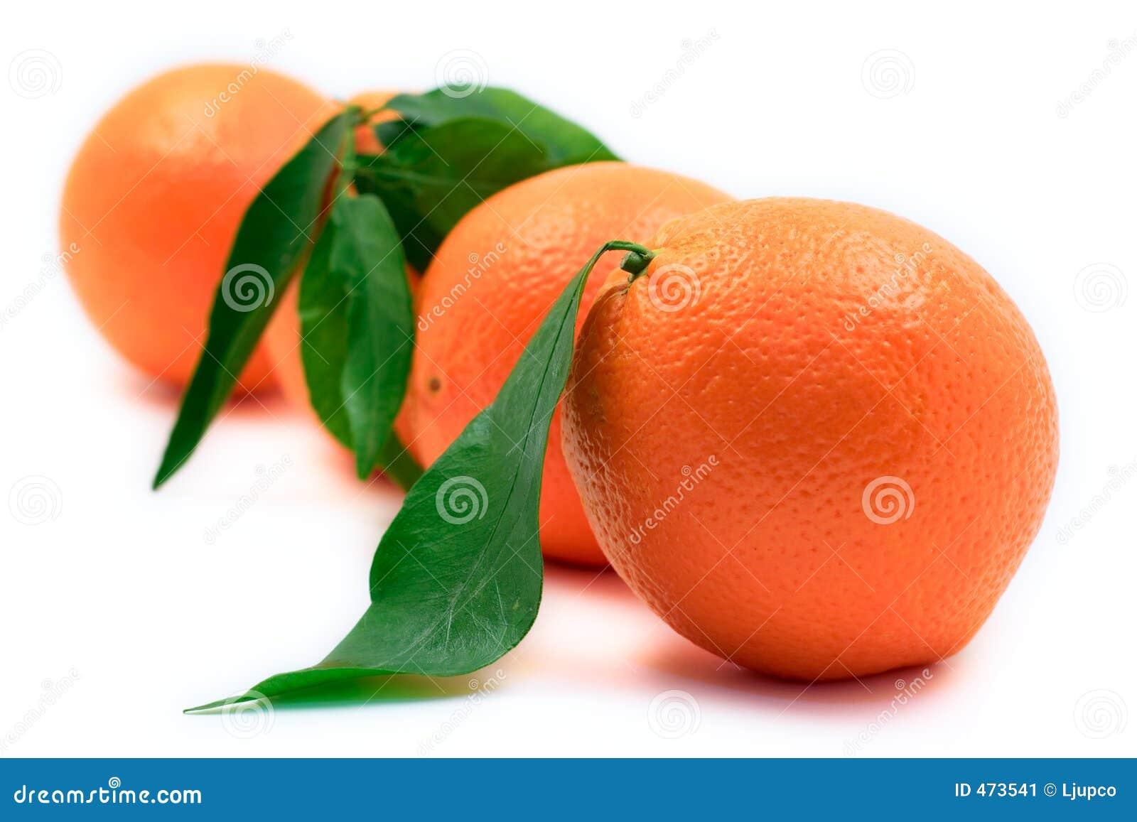 ευθυγραμμισμένα πορτοκάλια επάνω