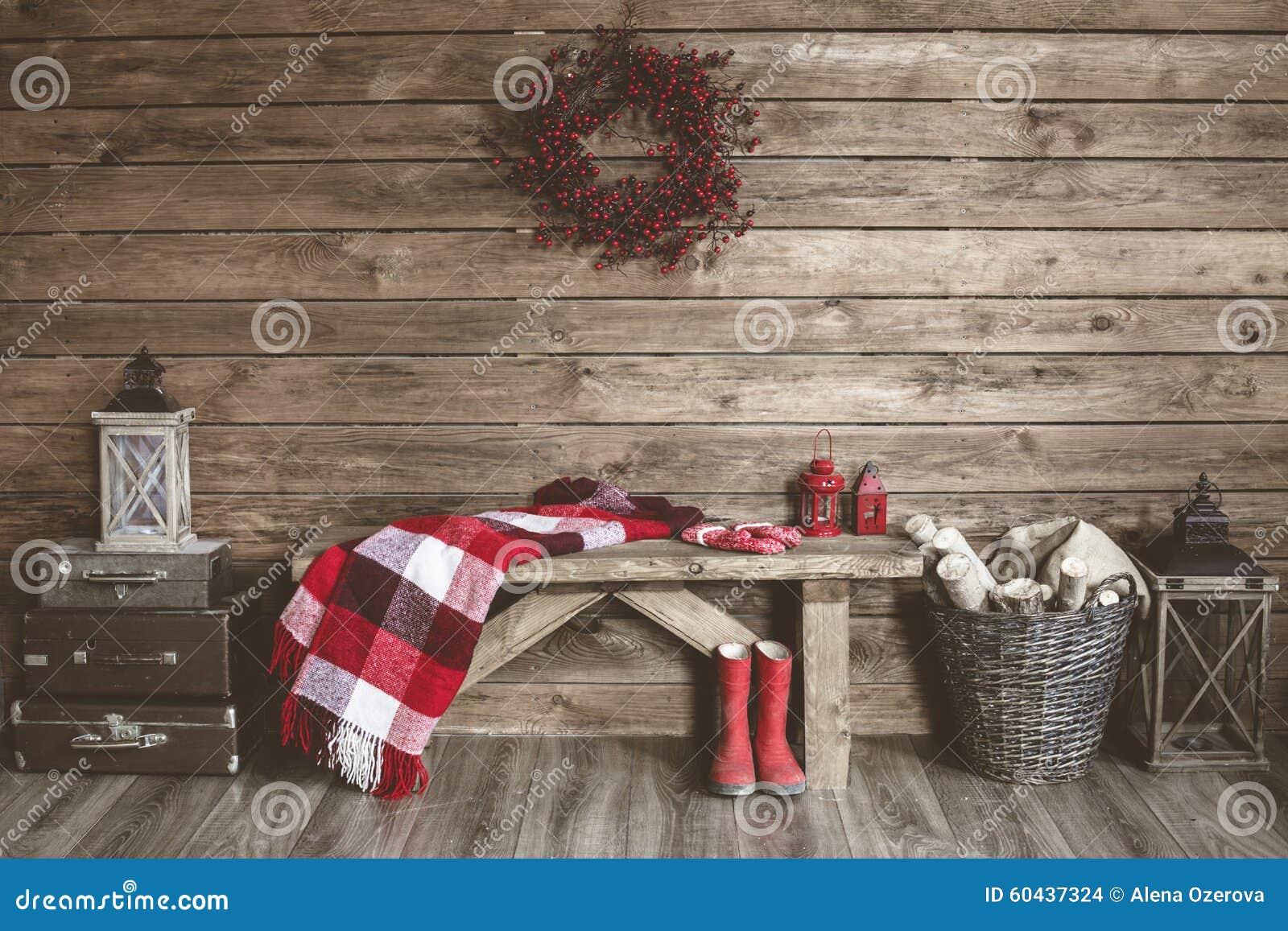 λευκό απομόνωσης ντεκόρ Χριστουγέννων