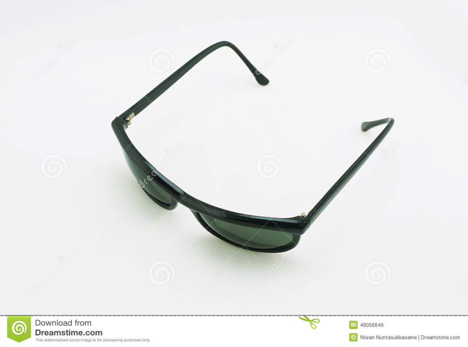 λευκό γυαλιών ηλίου ανα&