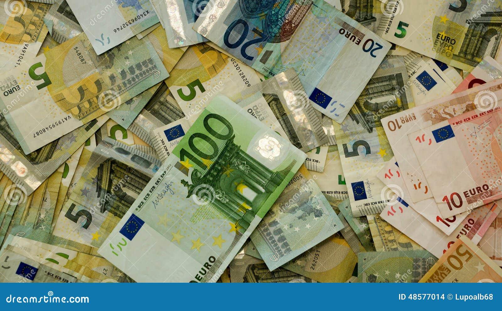 ευρο- ευρώ πέντε εστίαση εκατό τραπεζών σχοινί σημειώσεων χρημάτων