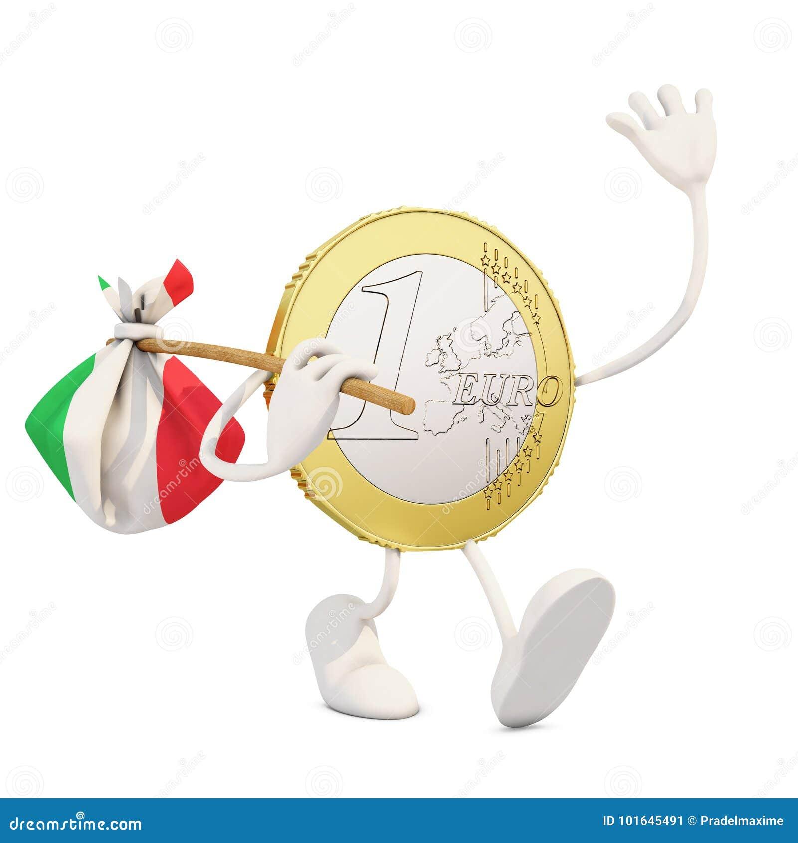 Ευρο- νόμισμα που αποχωρεί από την Ιταλία