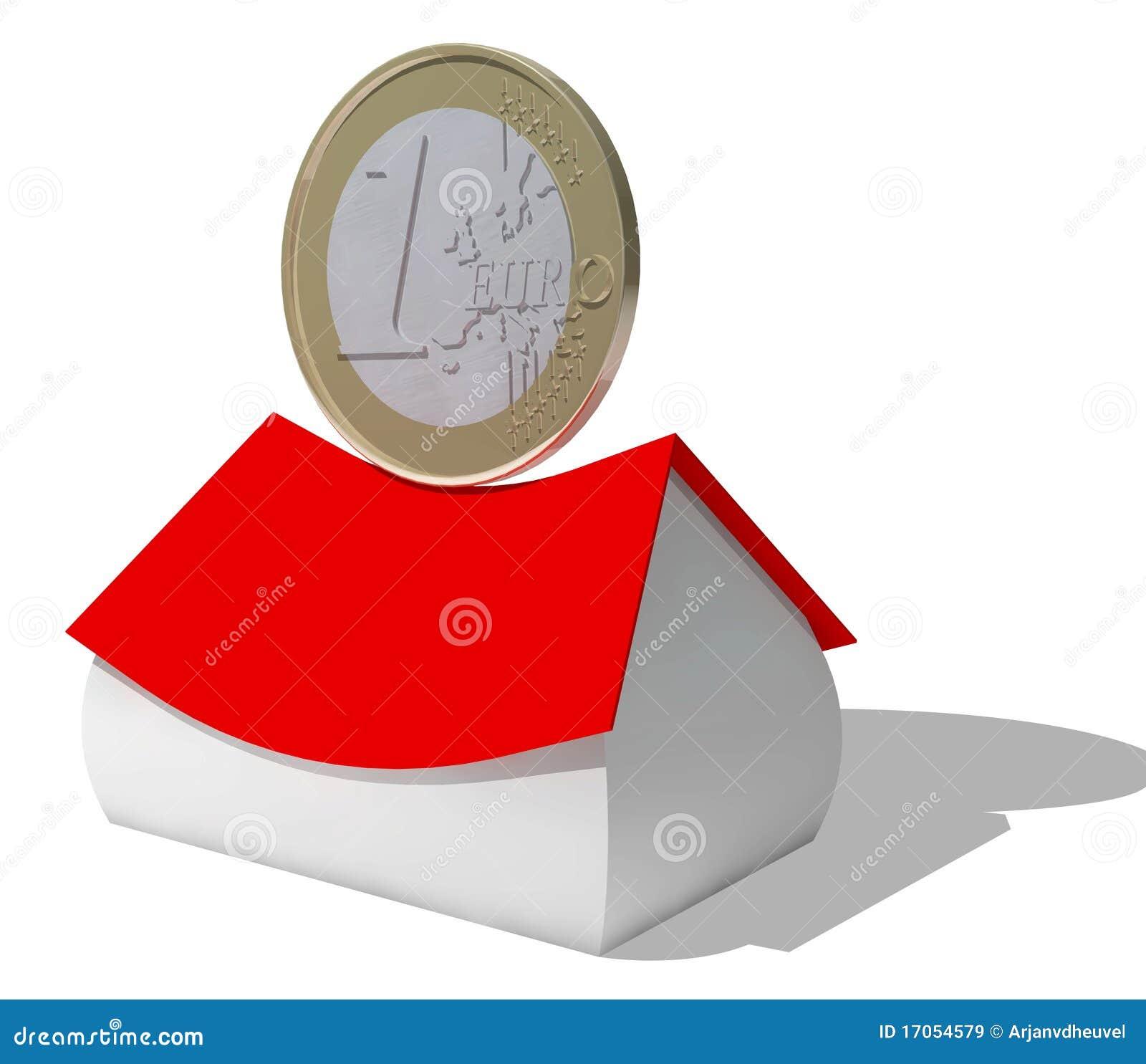 ευρο- σπίτι νομισμάτων