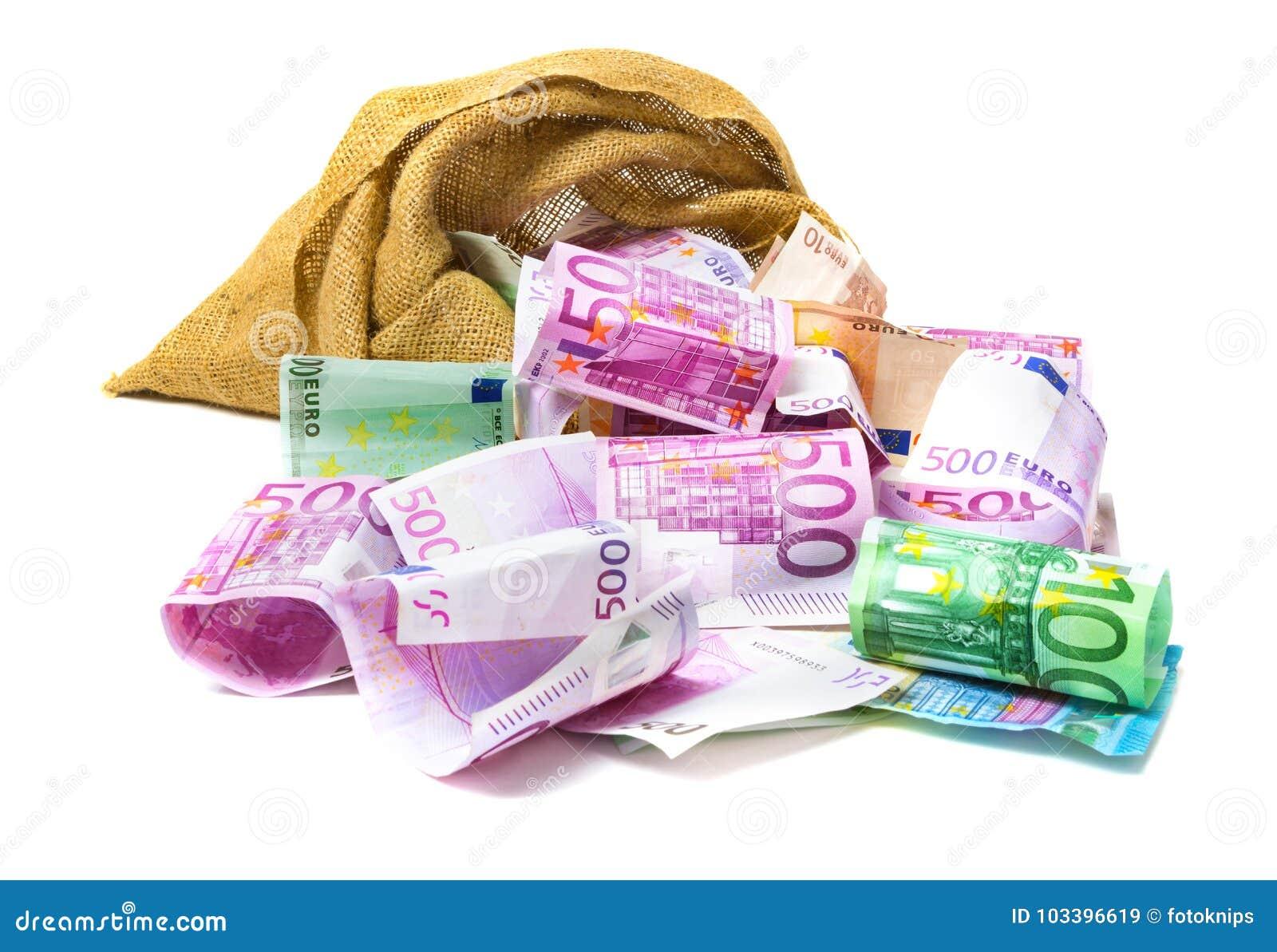 Ευρο- χρήματα από την τσάντα
