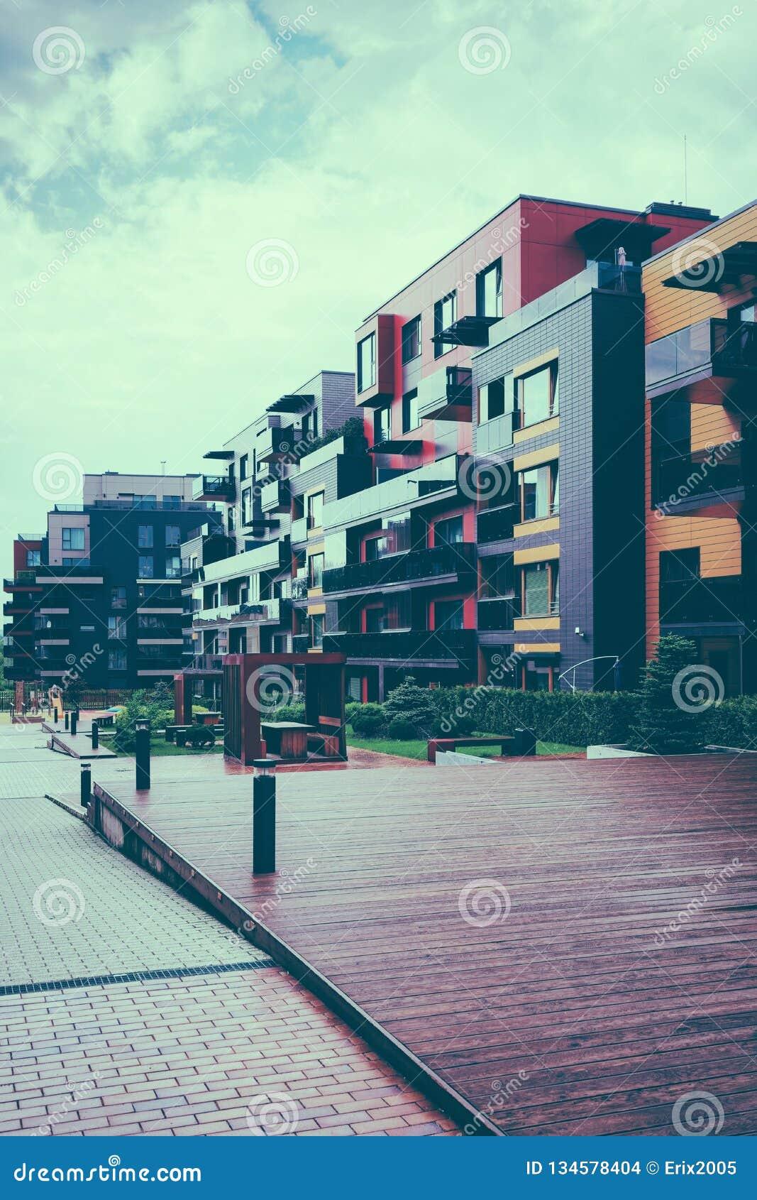 Ευρωπαϊκός σύνθετος των κατοικημένων κτηρίων