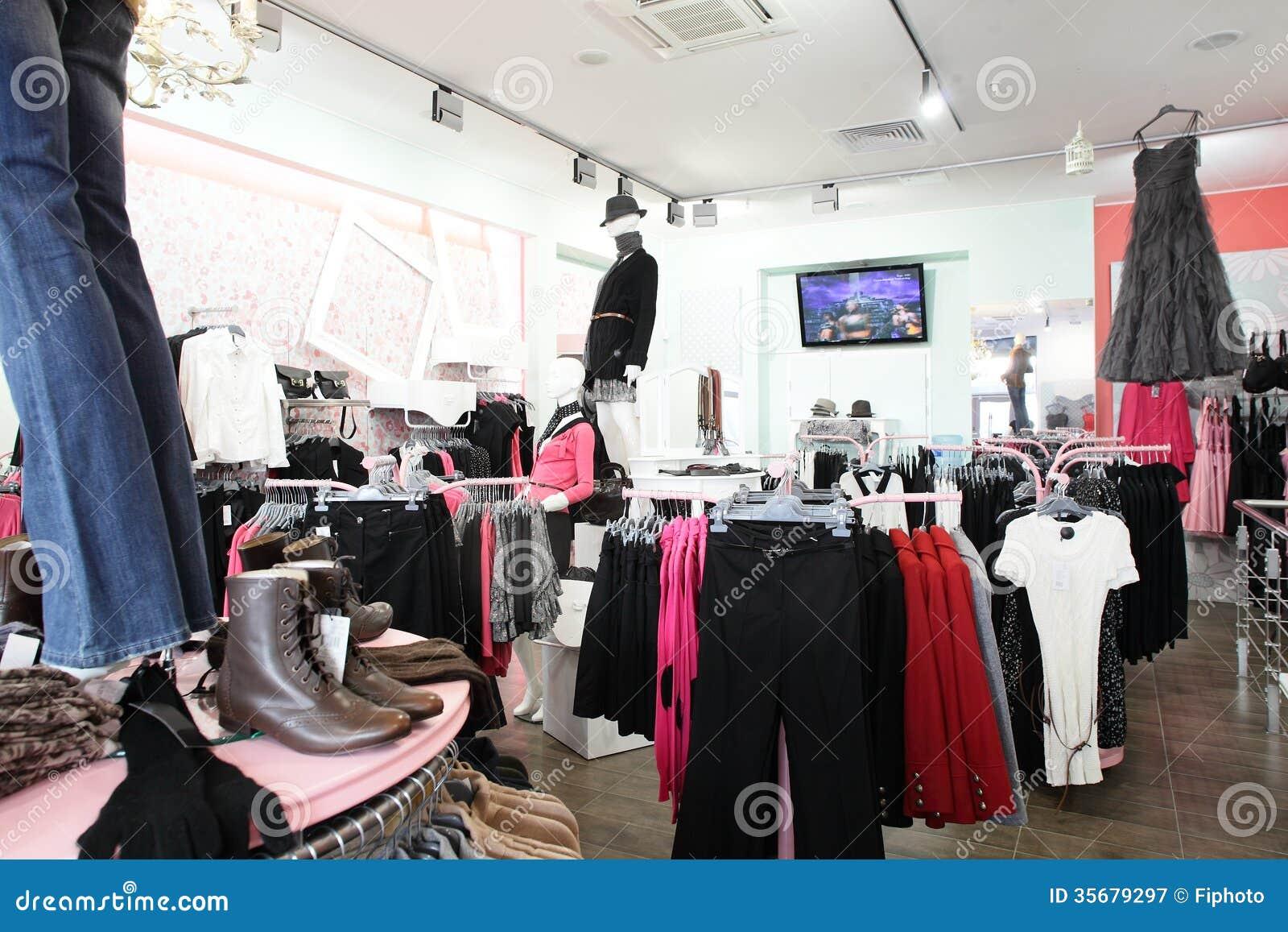 Ευρωπαϊκό κατάστημα ιματισμού με την τεράστια συλλογή