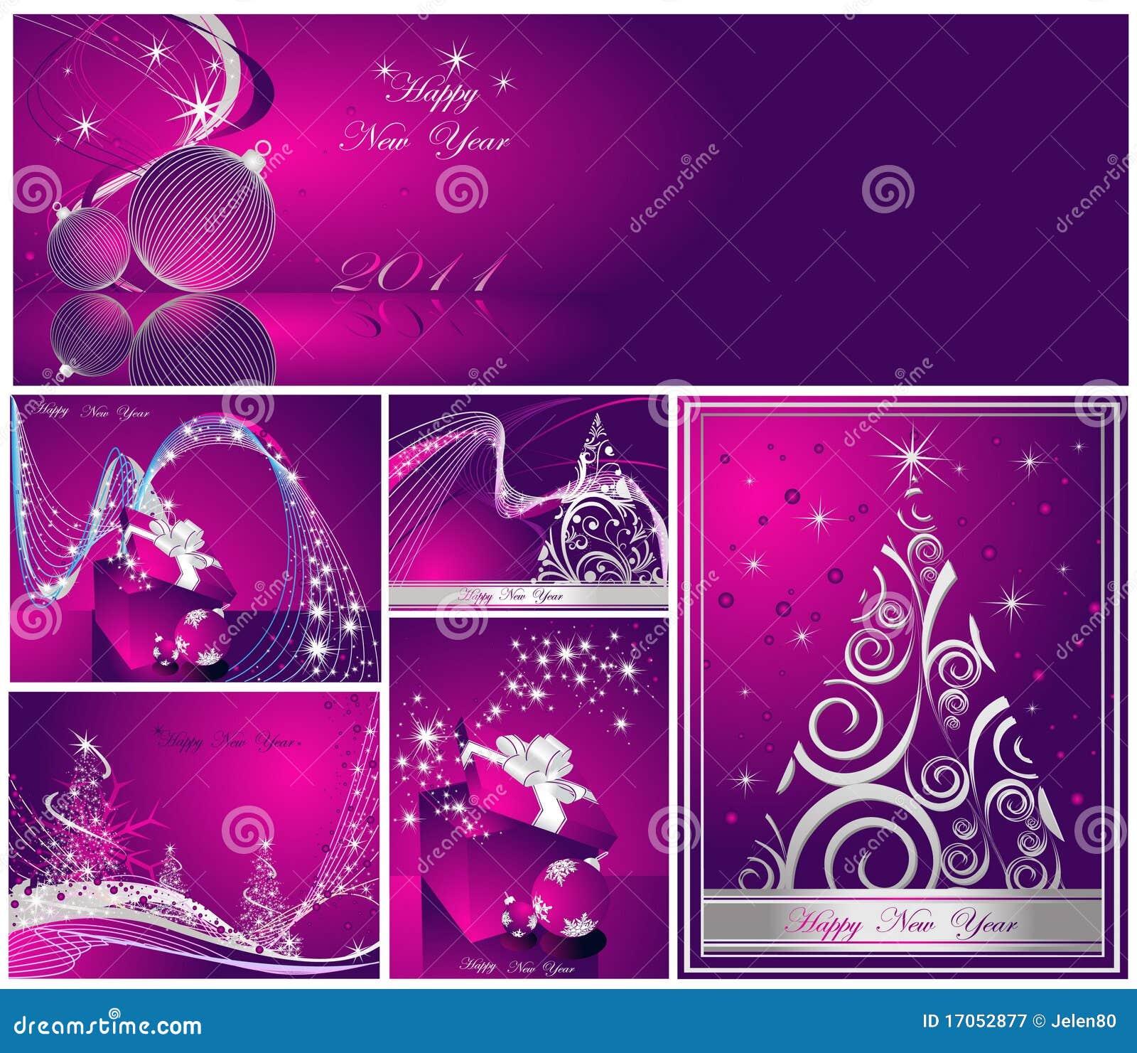 ευτυχές εύθυμο νέο έτος &Chi