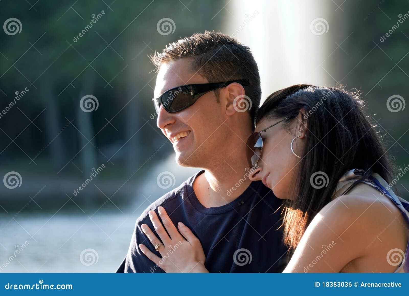 Ευτυχές ζεύγος από κοινού