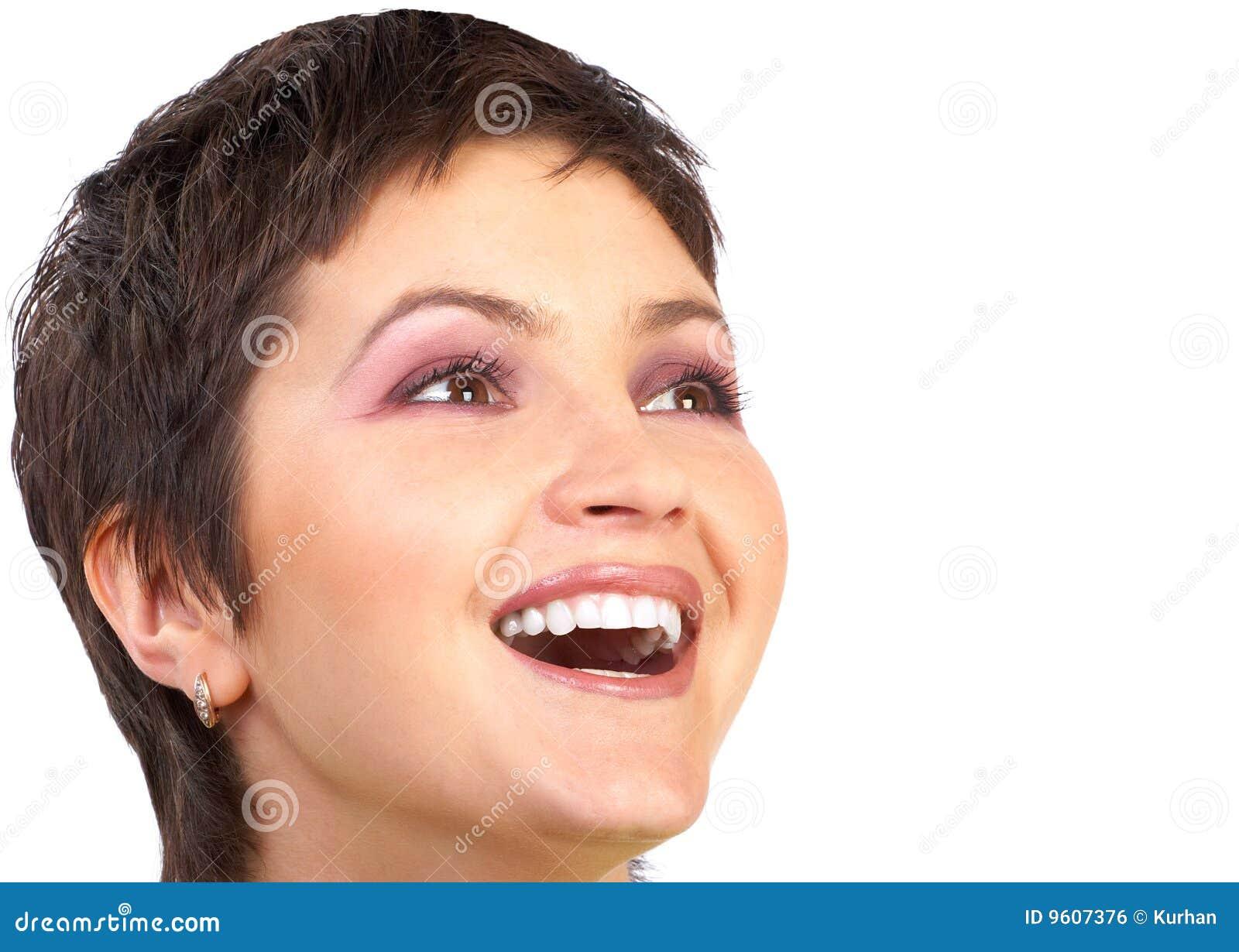 ευτυχής γυναίκα