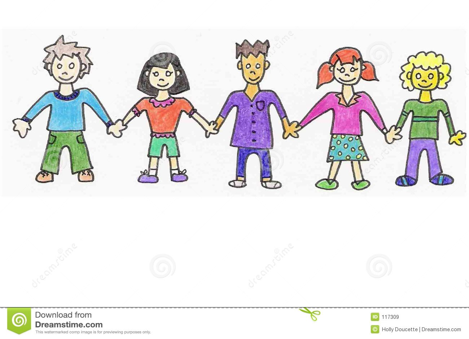 ευτυχής εκμετάλλευση χεριών παιδιών