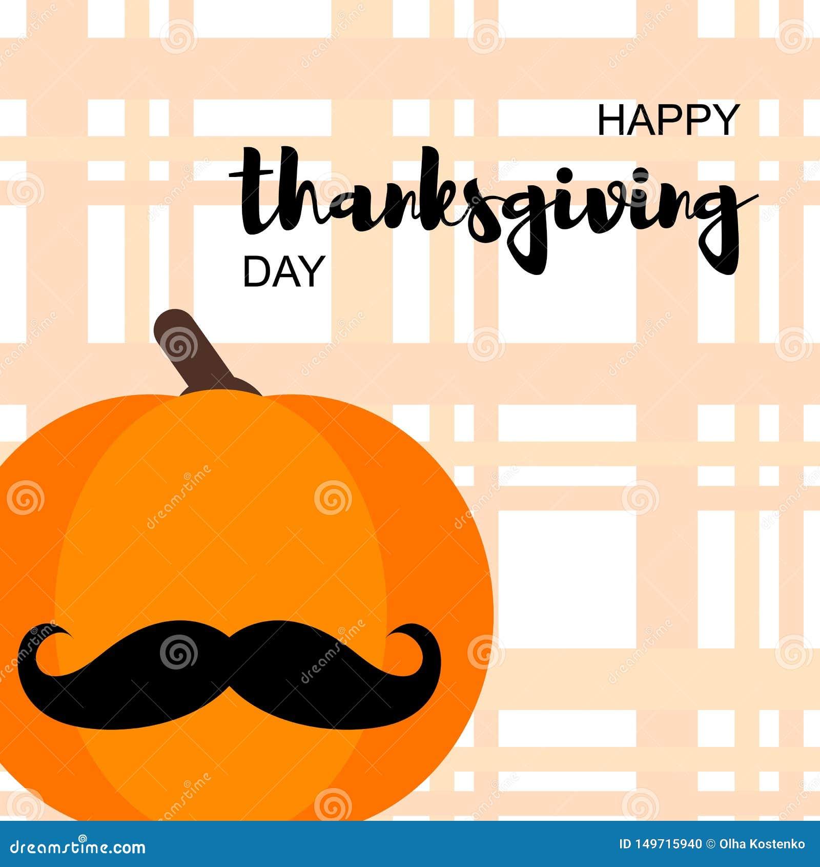 Ευτυχής κάρτα ημέρας των ευχαριστιών