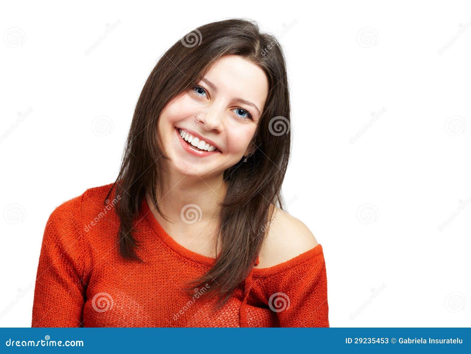 Ευτυχής νέα γυναίκα