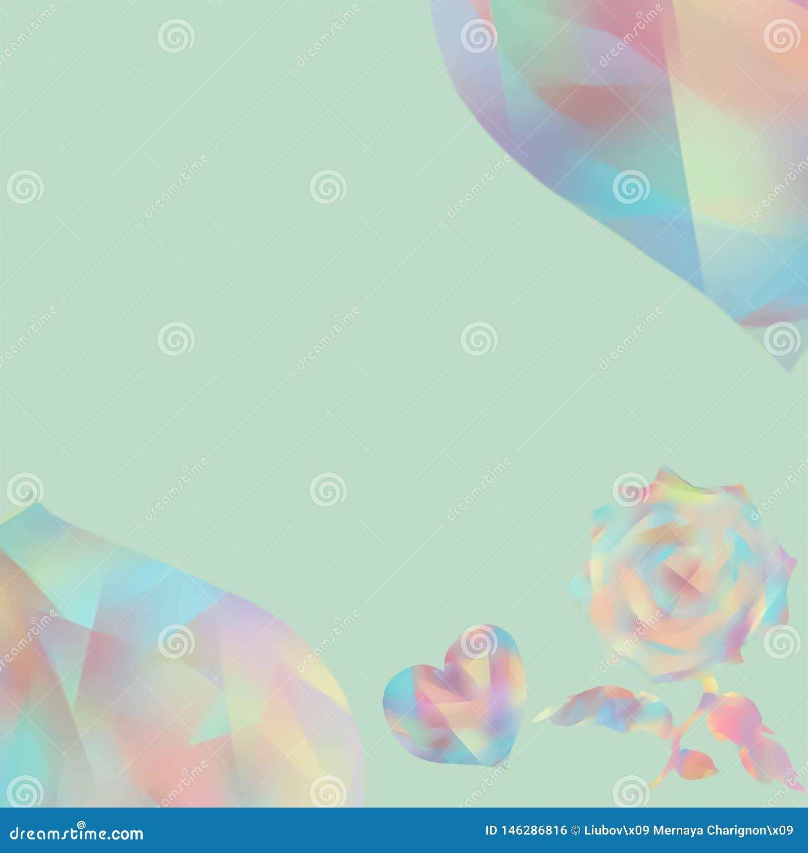Ευχετήριες κάρτες για την ημέρα Valentine's Ευτυχής γάμος Μουτζουρωμένο κολάζ