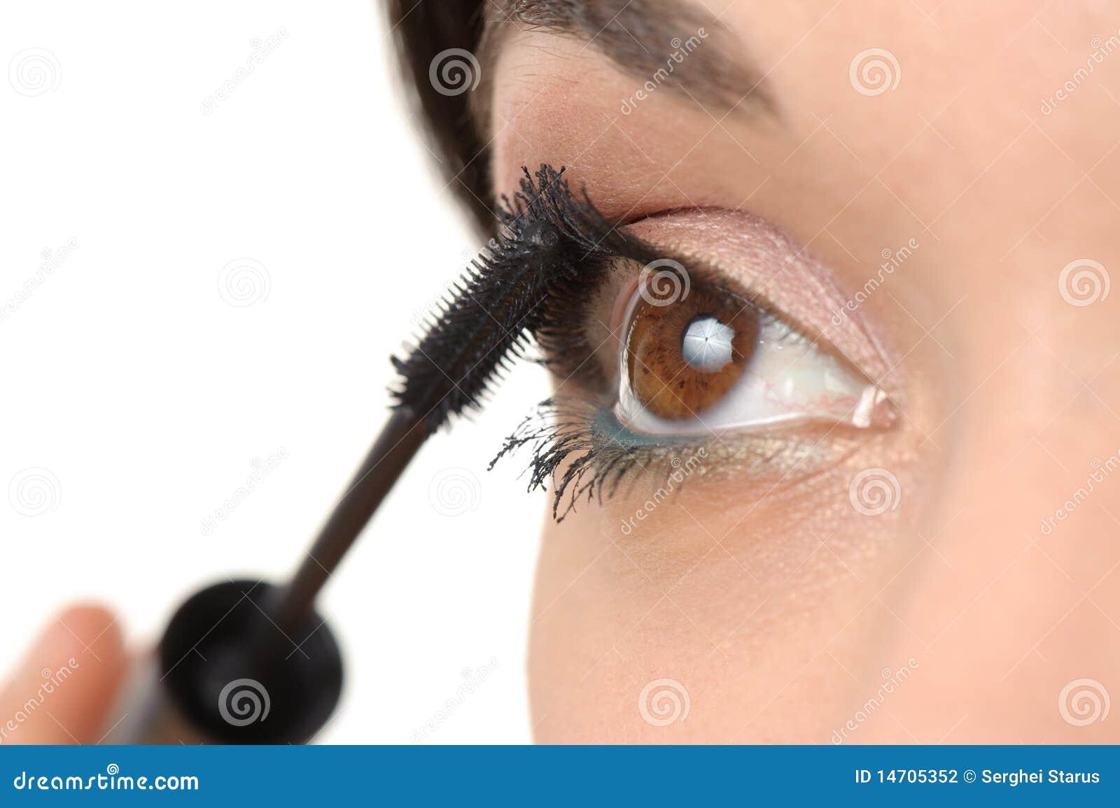 Εφαρμογή  mascara μαστιγίων βου