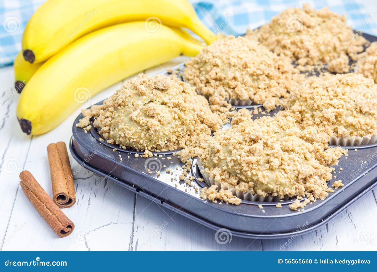Εύγευστα σπιτικά muffins μπανανών κανέλας