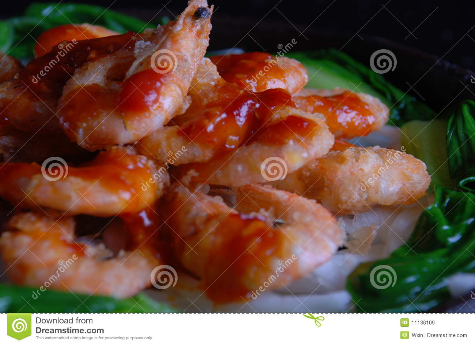 εύγευστες γαρίδες τρο&