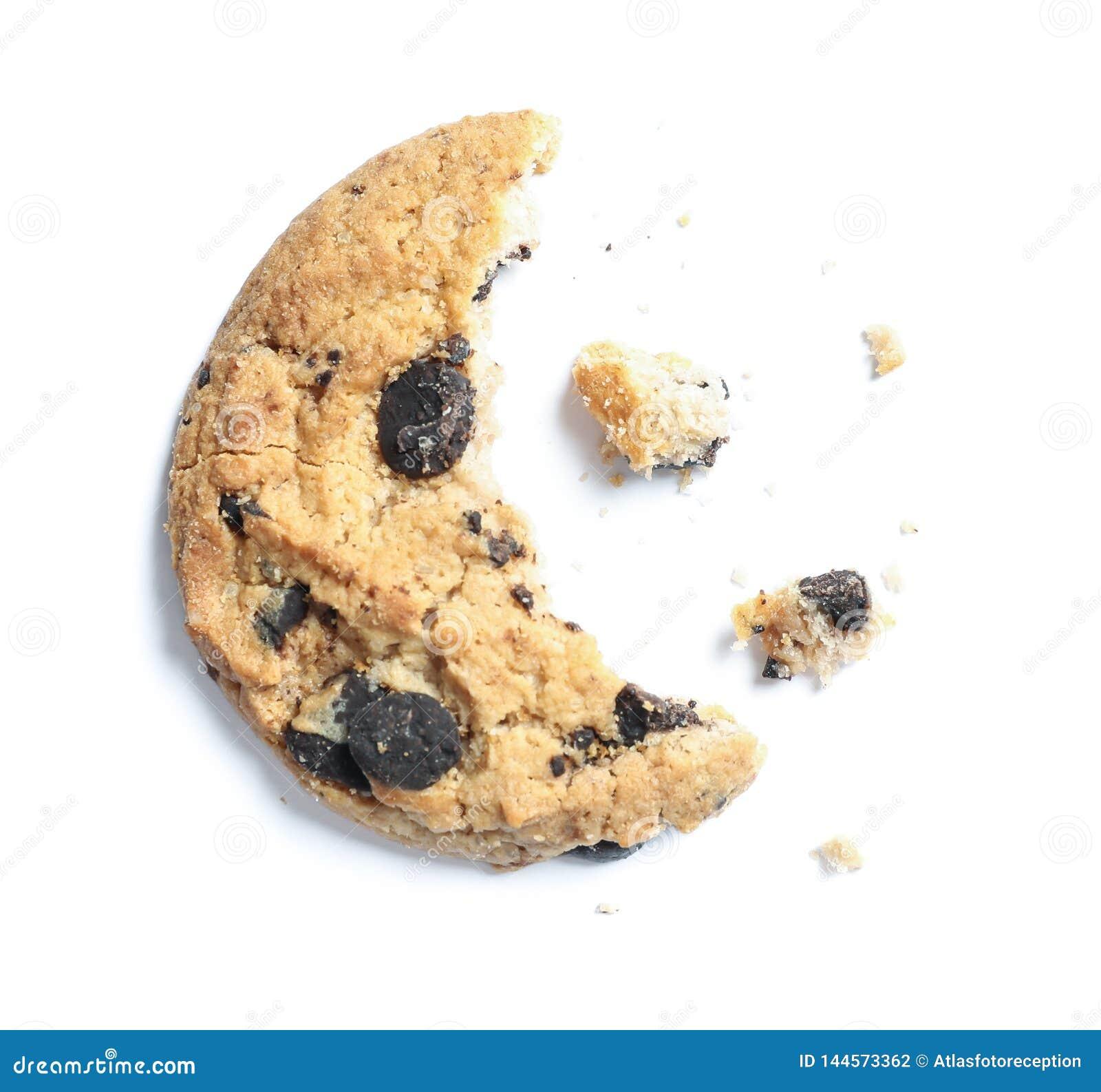 Εύγευστο μπισκότο με μορφή φεγγαριών που απομονώνεται