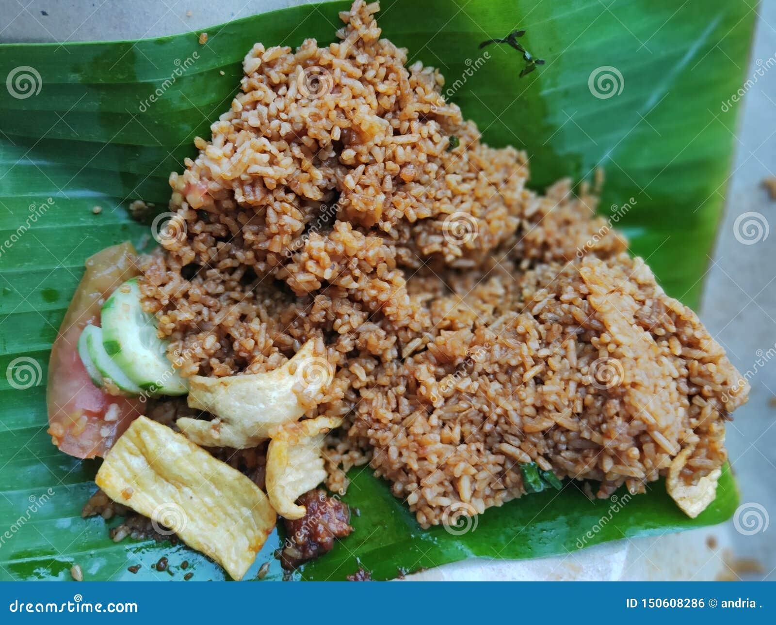 εύγευστο τηγανισμένο Acehnese ρύζι