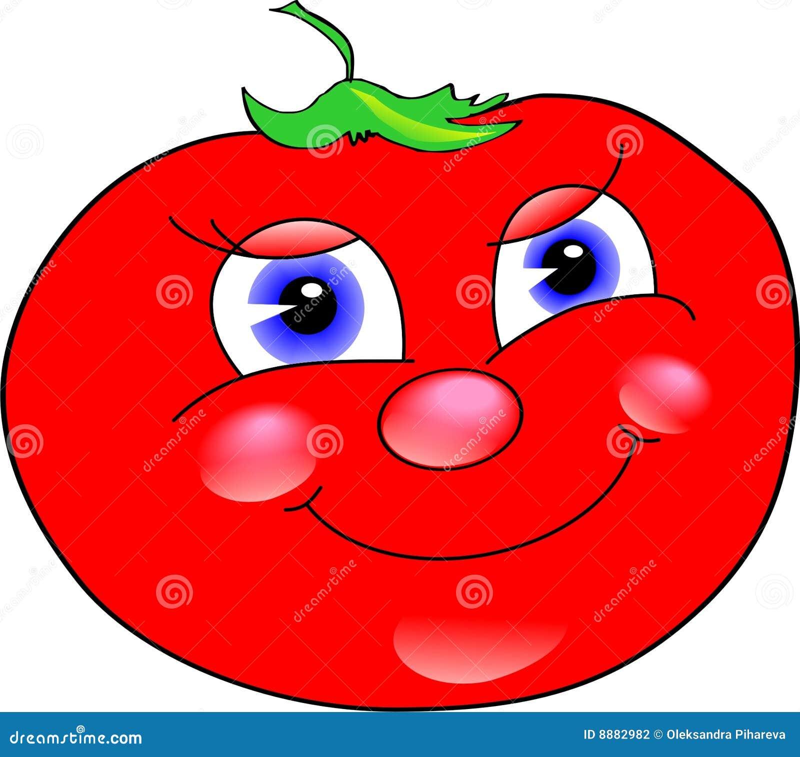 εύθυμη ντομάτα