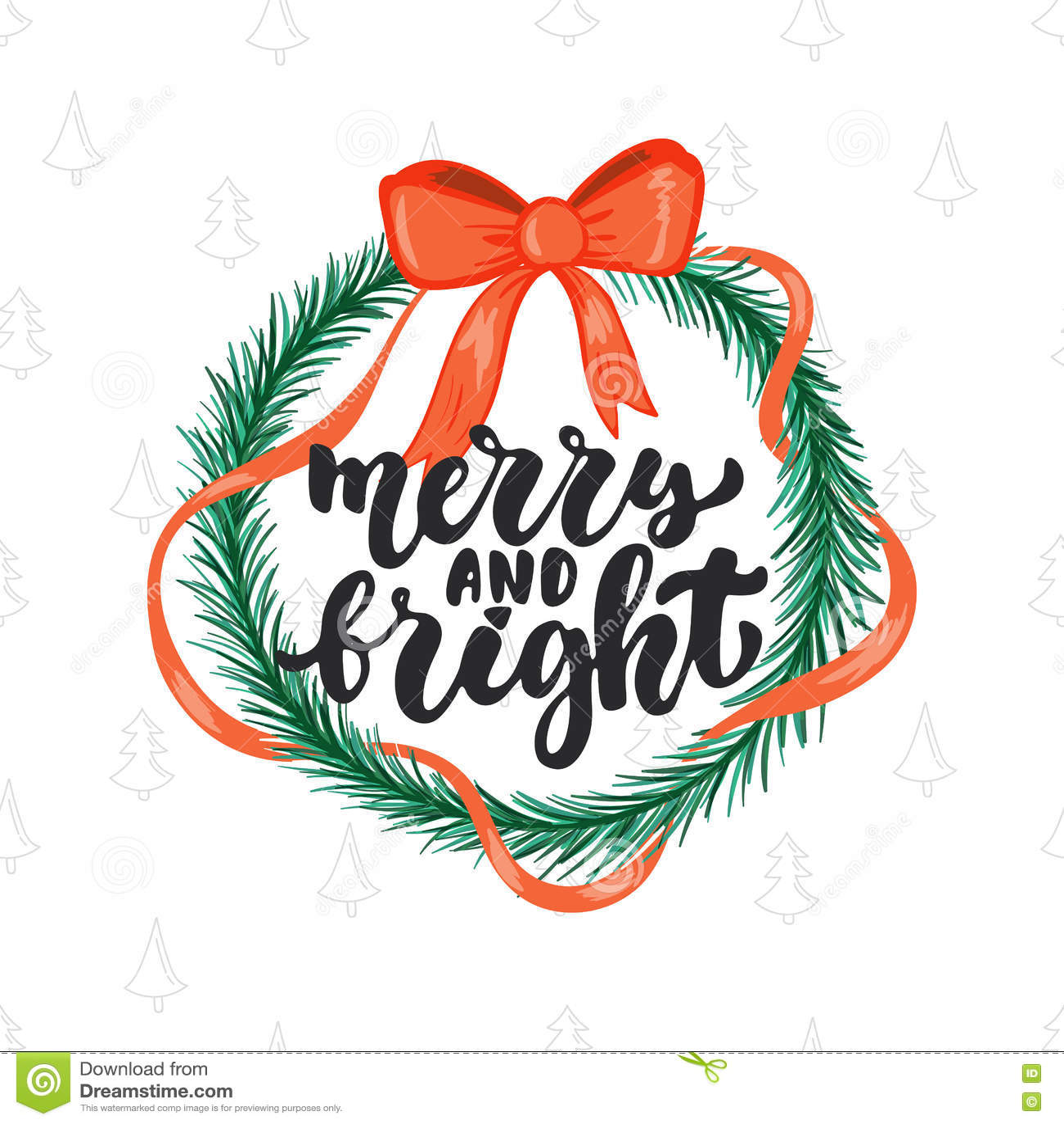 Εύθυμος και φωτεινός - Χριστούγεννα εγγραφής και νέα φράση καλλιγραφίας διακοπών έτους που απομονώνονται στο υπόβαθρο Μελάνι βουρ