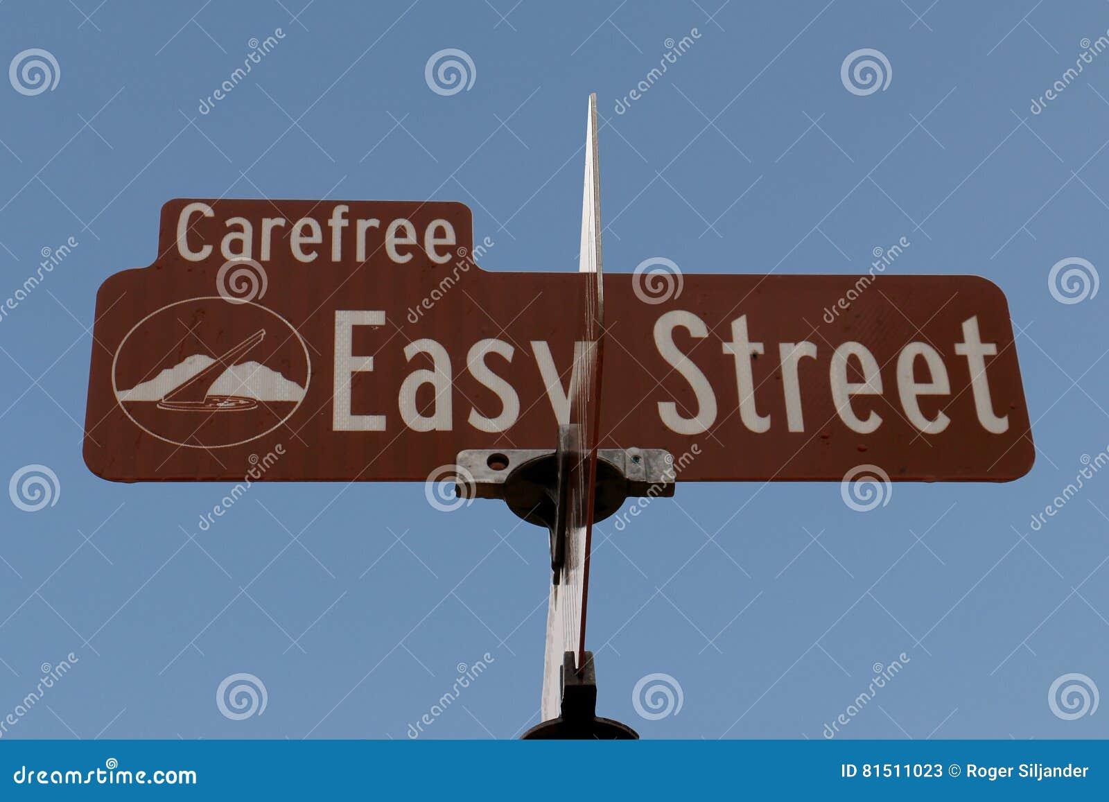 εύκολη οδός σημαδιών