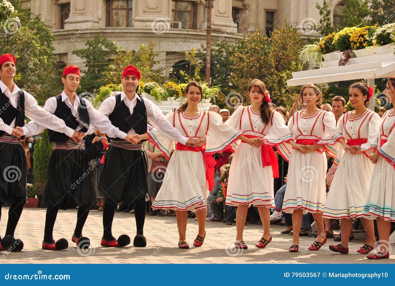 Ελληνικοί χορευτές
