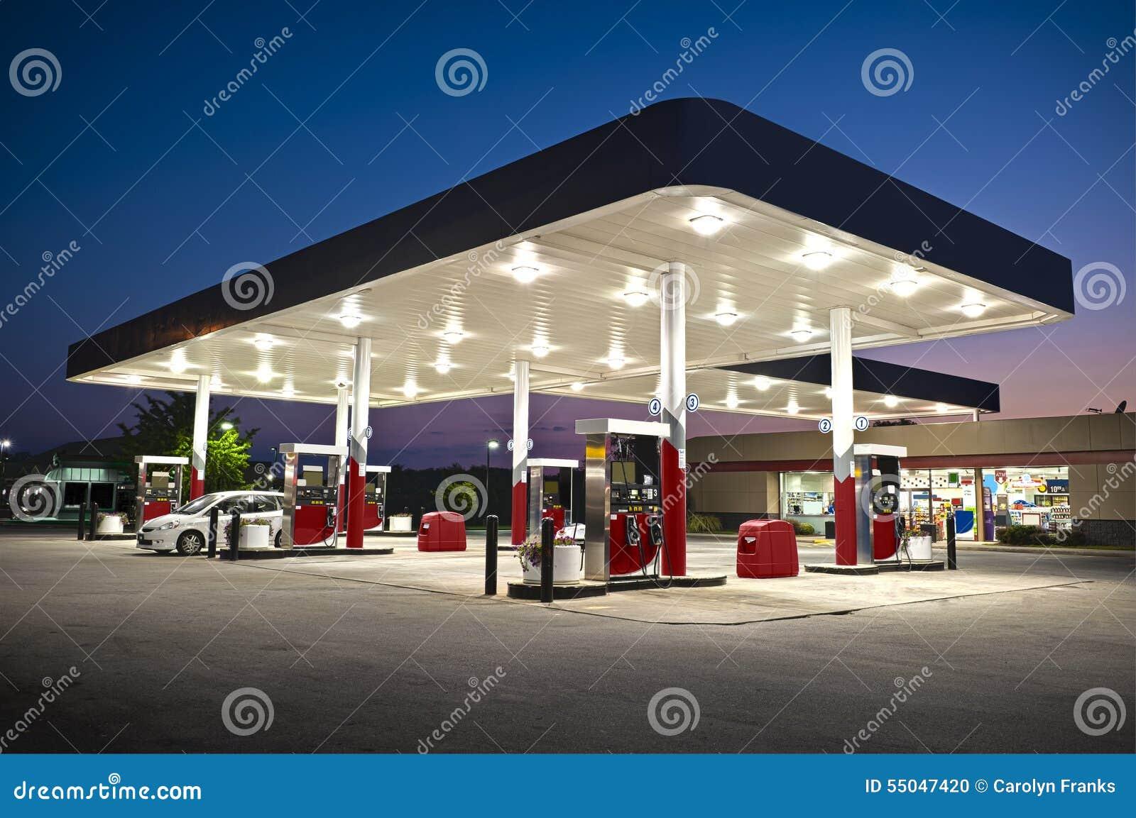 Ελκυστικό ψιλικατζίδικο βενζινάδικων