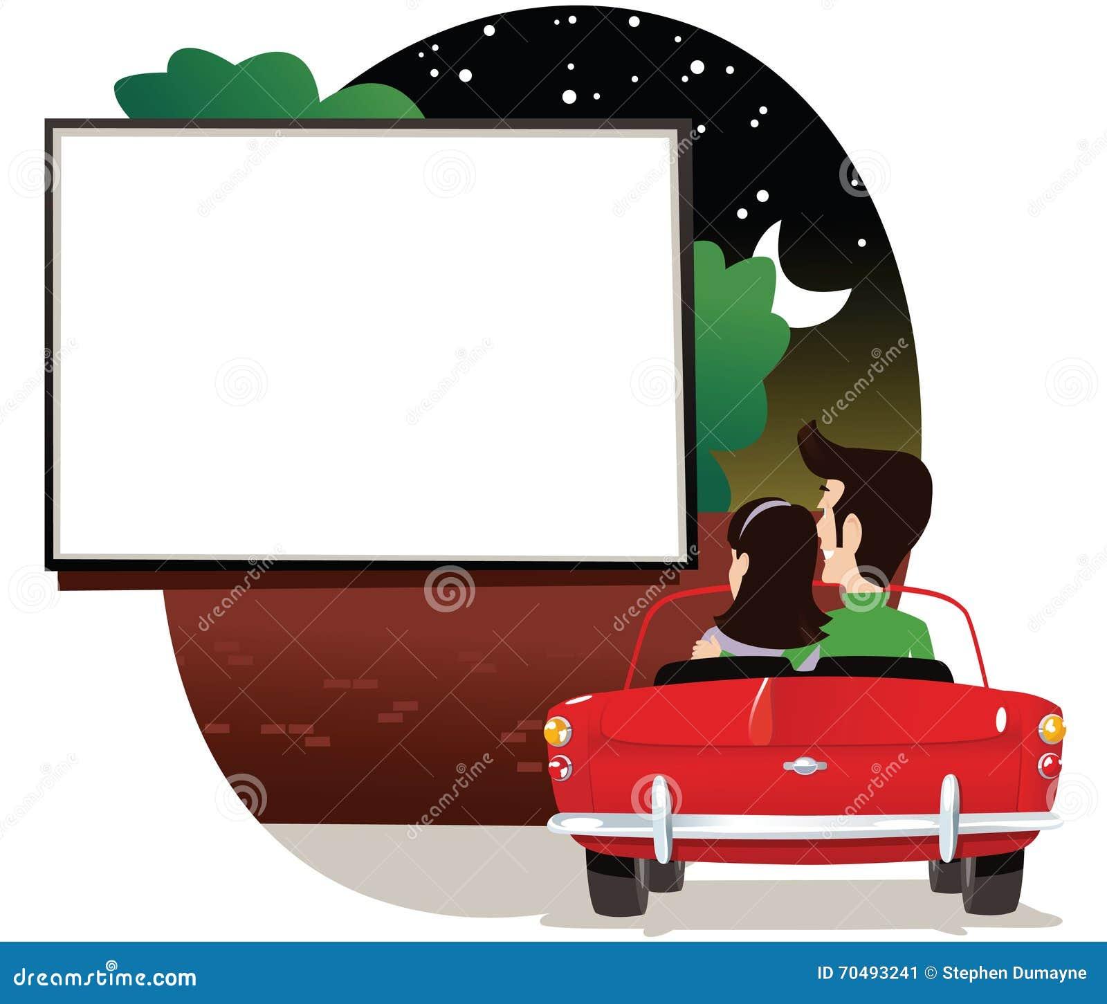 Ζεύγος στην κίνηση στον κινηματογράφο