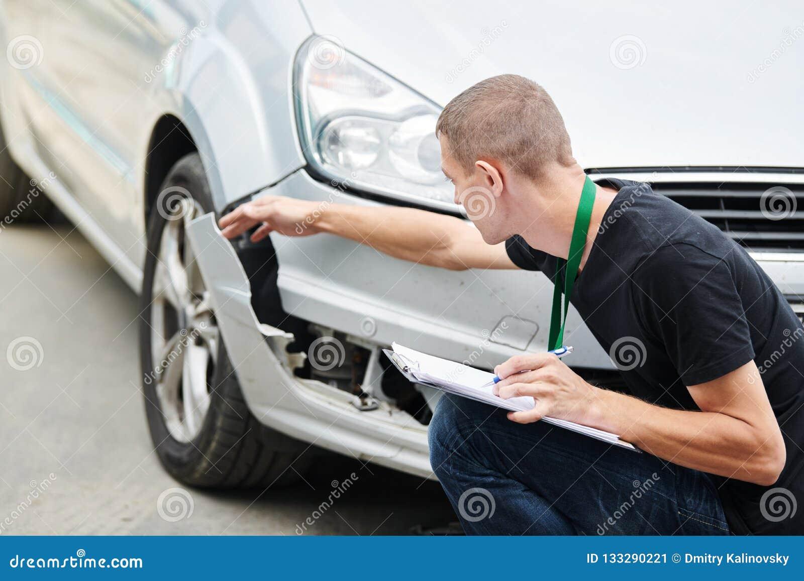 Ζημία αυτοκινήτων καταγραφής ασφαλιστικών πρακτόρων στη μορφή αξίωσης