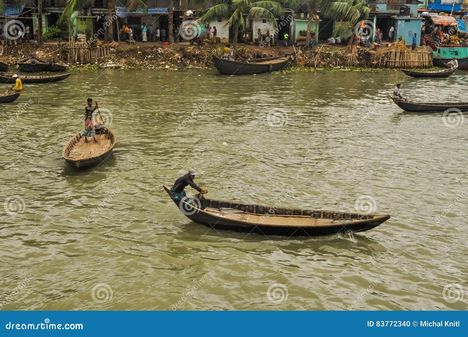 Ζωή σε Dhaka στο Μπανγκλαντές