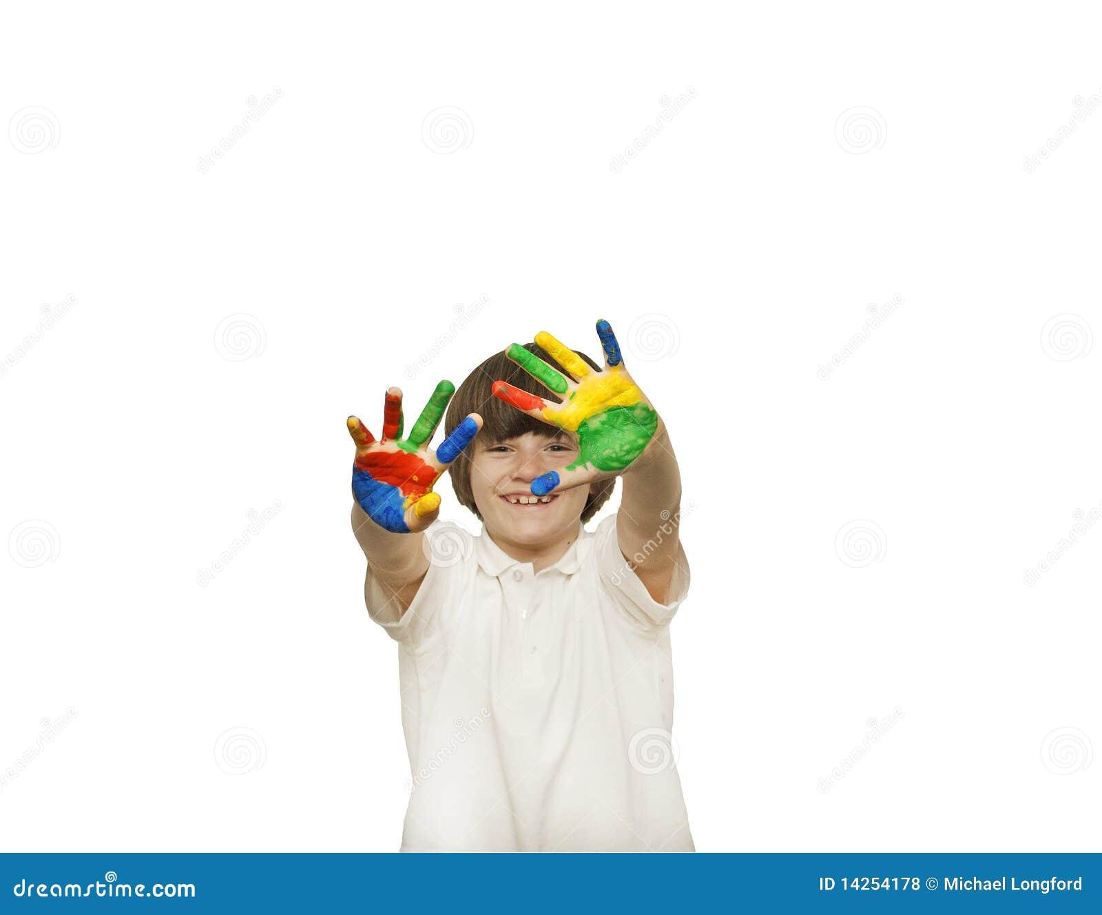 ζωγραφική δάχτυλων