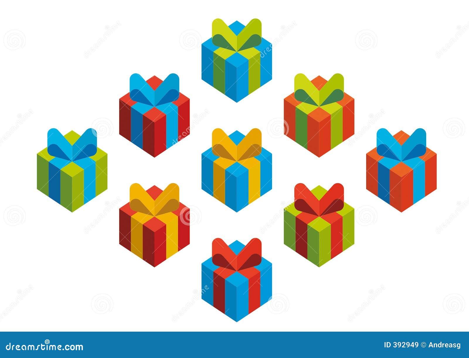 ζωηρόχρωμα δώρα