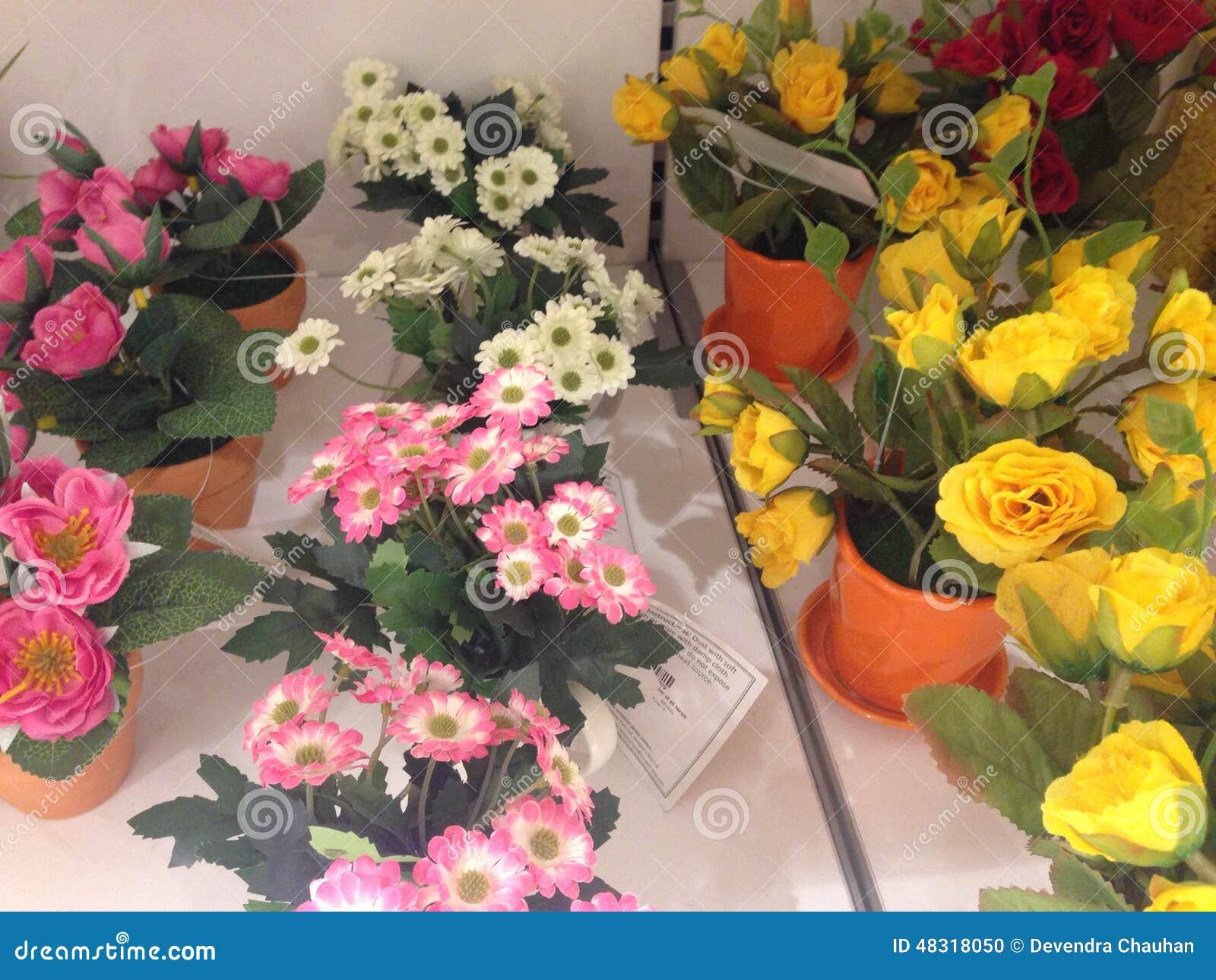 ζωηρόχρωμα λουλούδια