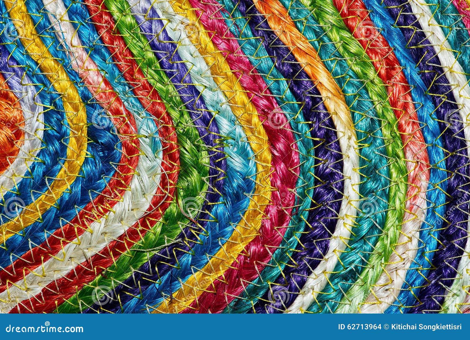 Ζωηρόχρωμα υφαμένα taxtures & υπόβαθρο κουβερτών μαλλιού σίζαλ