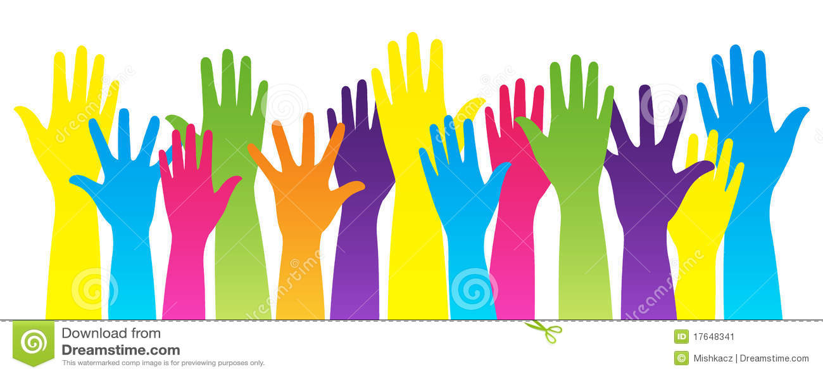 ζωηρόχρωμα χέρια