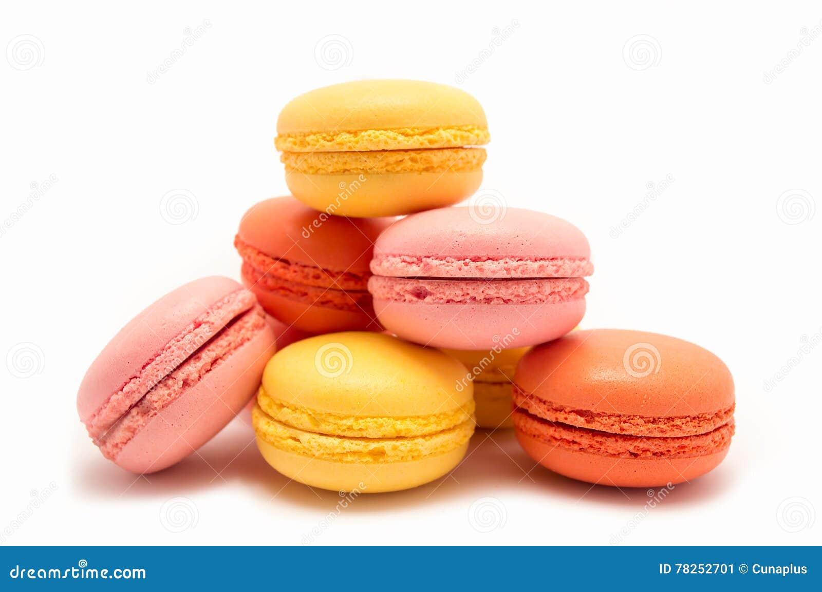 ζωηρόχρωμα macarons