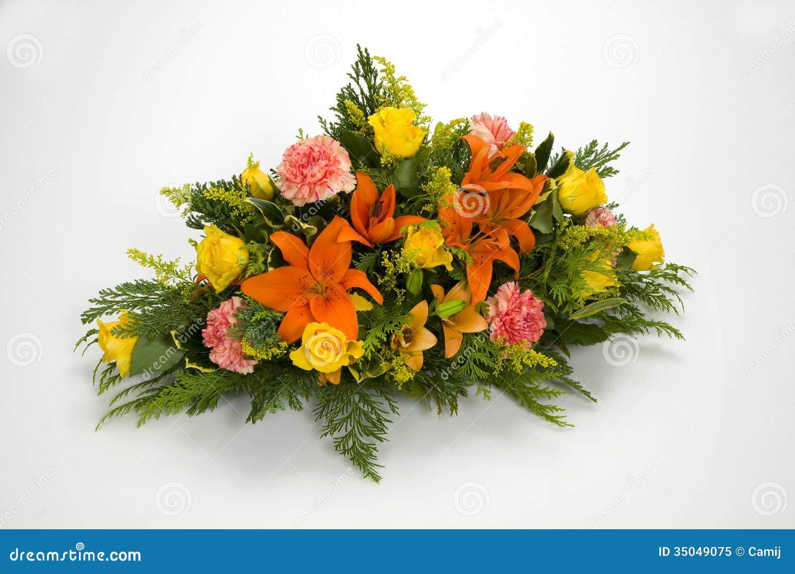 Ζωηρόχρωμη ανθοδέσμη των λουλουδιών