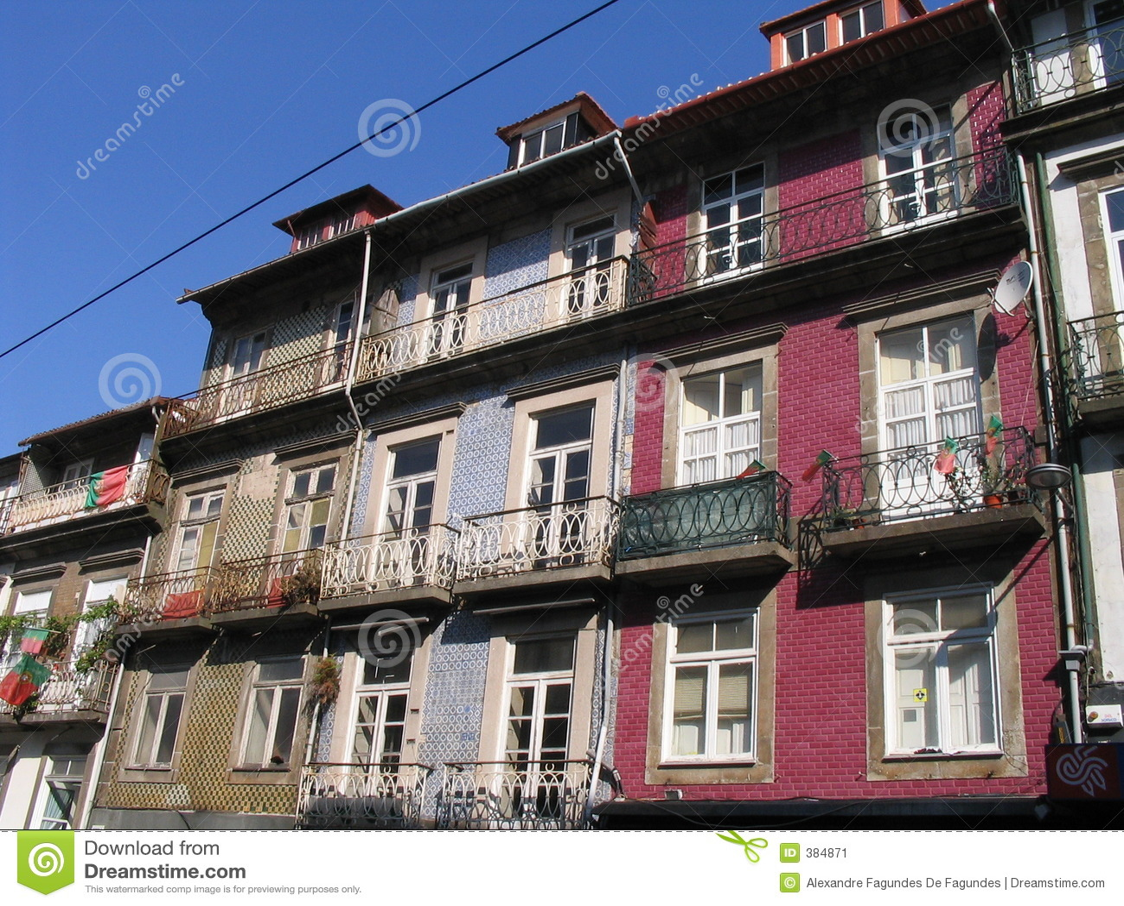ζωηρόχρωμη κατοικία Πόρτο &chi