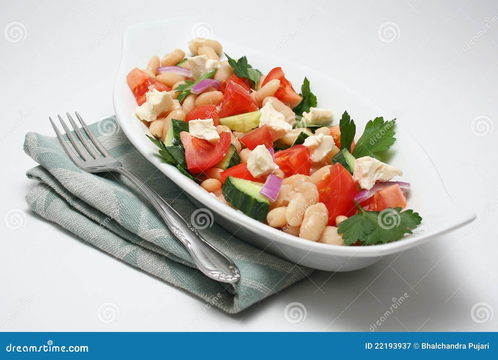 ζωηρόχρωμη σαλάτα
