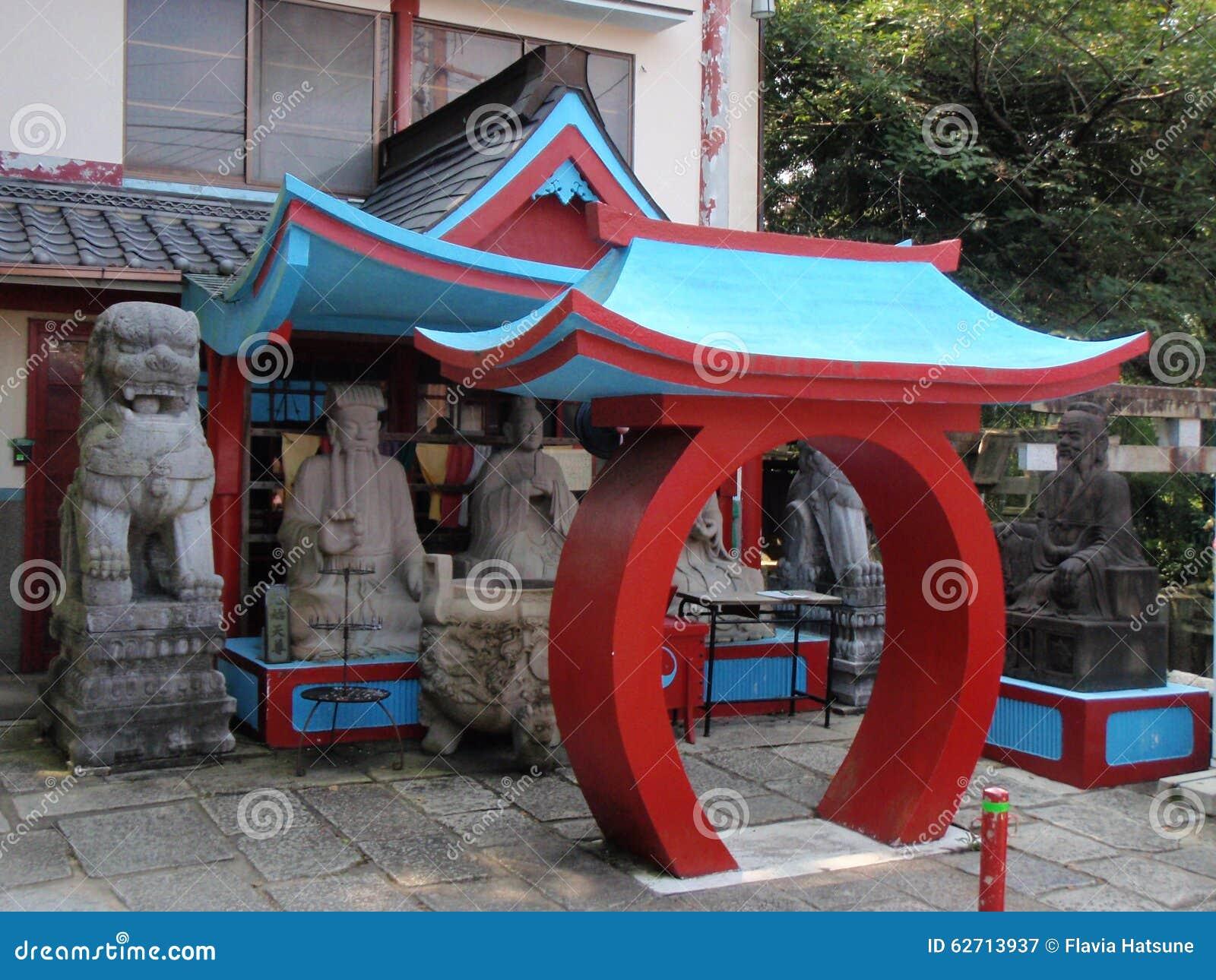 Ζωηρόχρωμος ναός στο Κιότο