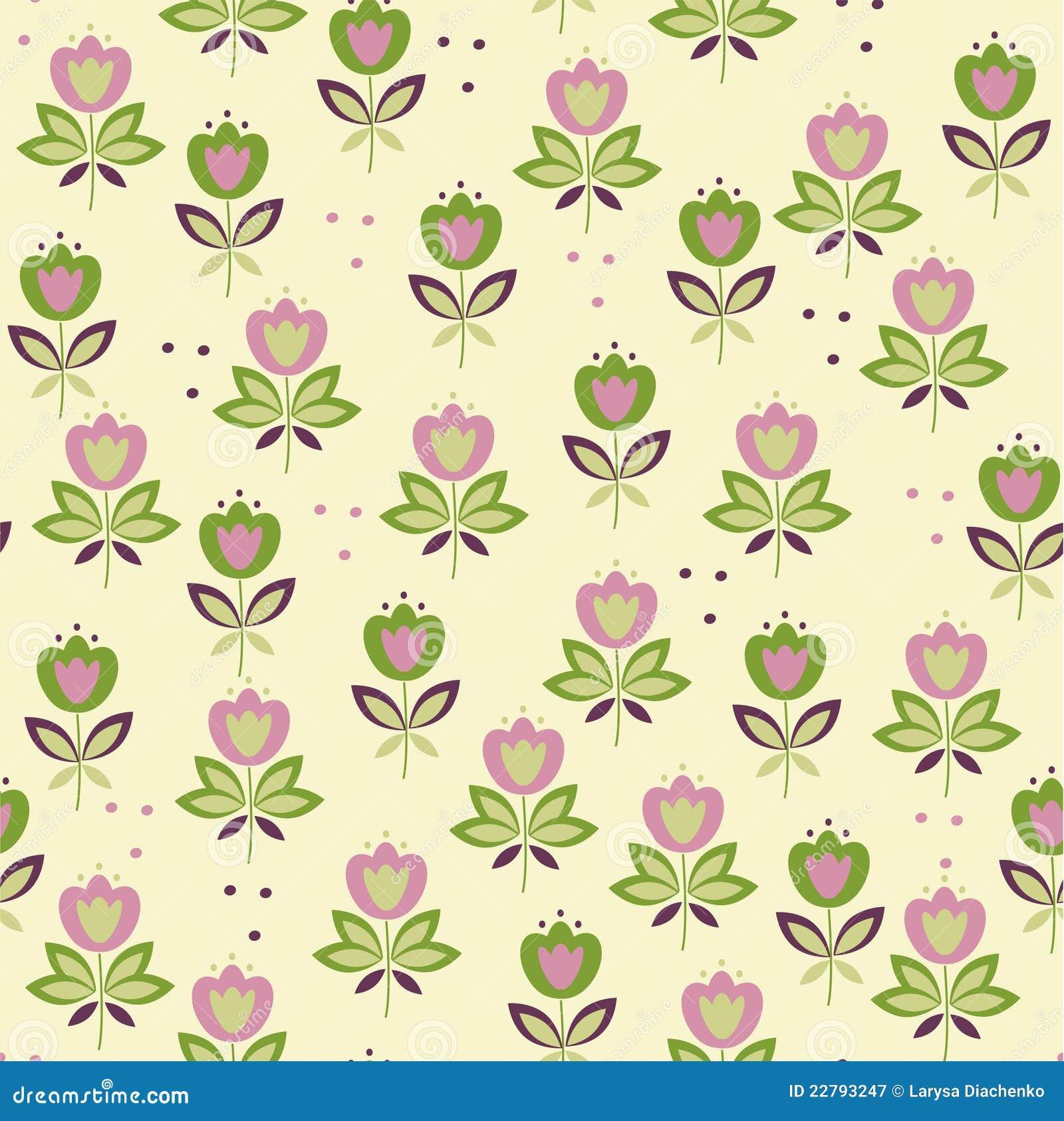 ζωηρόχρωμος floral ανασκόπησης