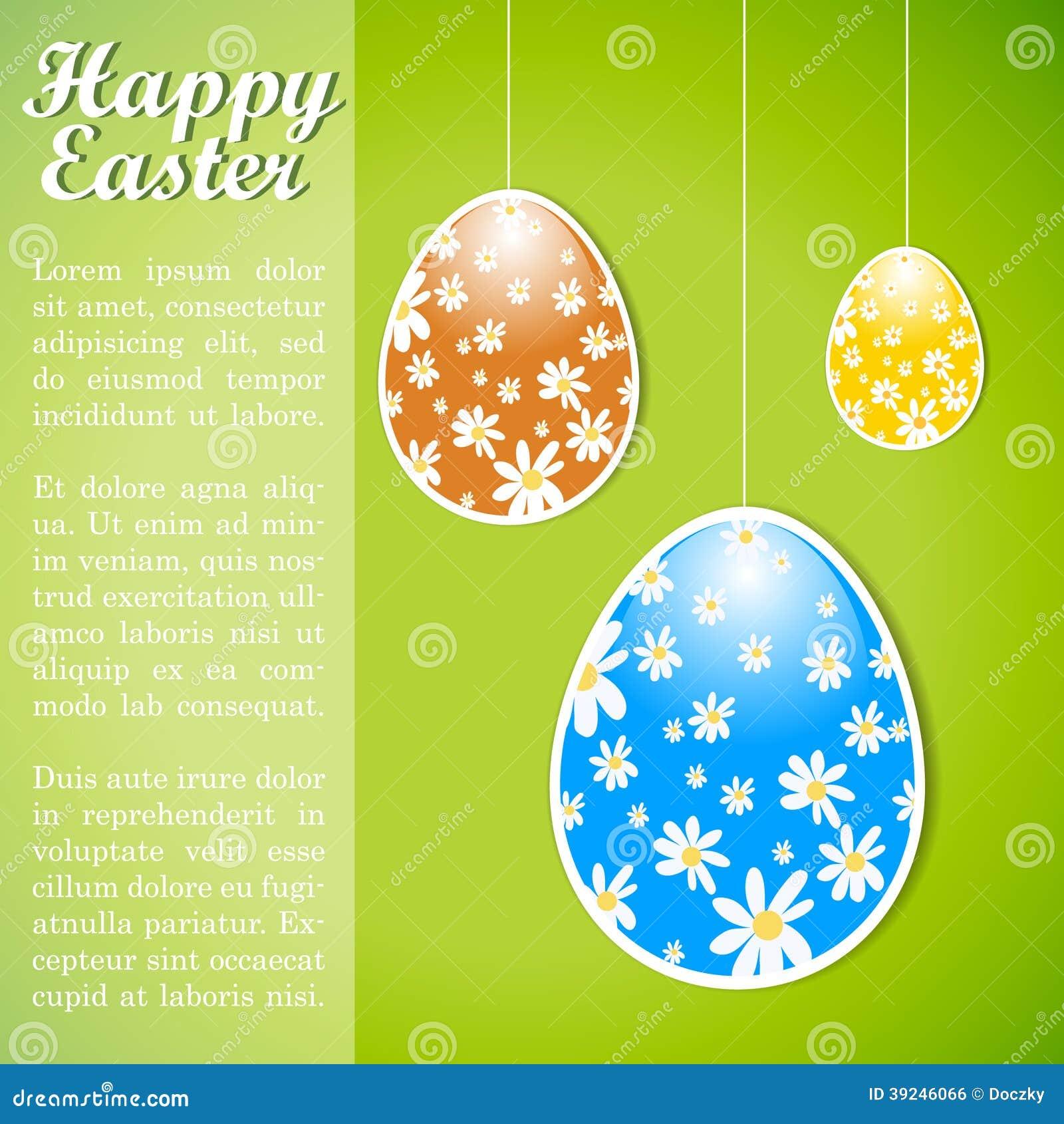 Ζωηρόχρωμο αναδρομικό πρότυπο σχεδίου Πάσχας με τα αυγά.
