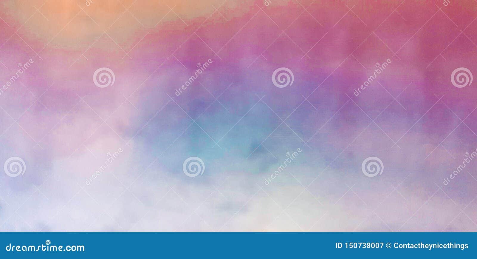 Ζωηρόχρωμο υπόβαθρο χρωμάτων watercolor μουτζουρωμένο