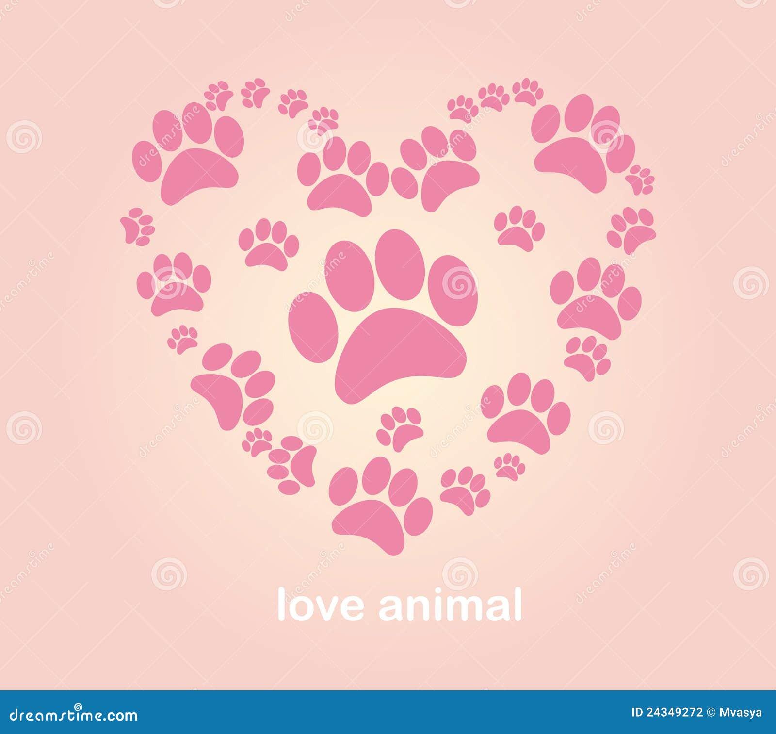 ζωική καρδιά s ιχνών