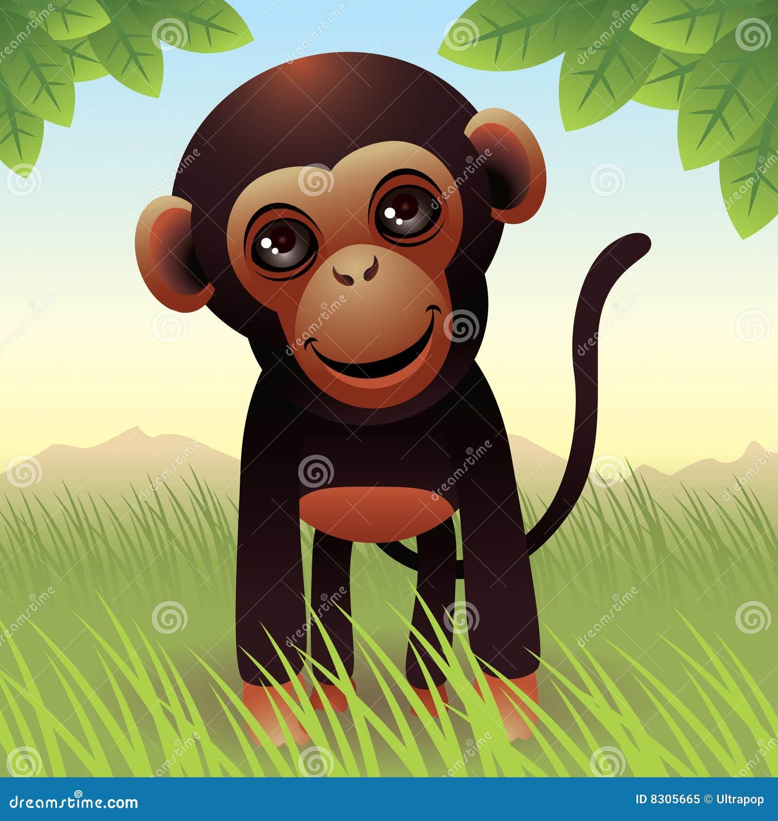ζωικός πίθηκος συλλογή&si