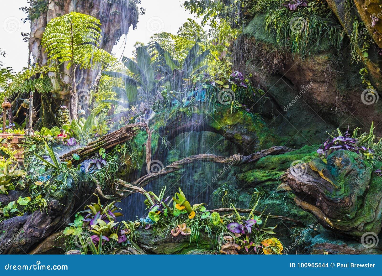 Ζωικό βασίλειο Pandora Pandora του παγκόσμιου Ορλάντο Φλώριδα της Disney