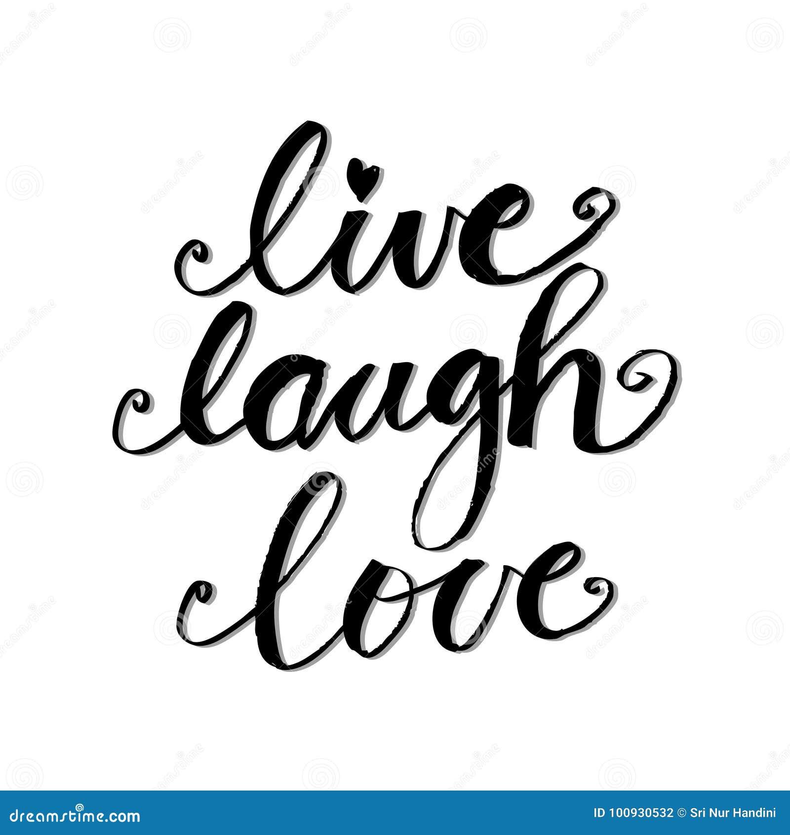 ζωντανή αγάπη γέλιου